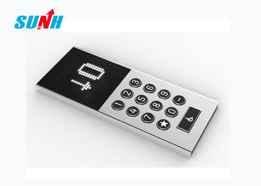 OEM Anti Static Elevator Cop Panel, Papan Display Kaca Lift Panel